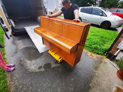 Piano moving Dublin man with a van Dublin