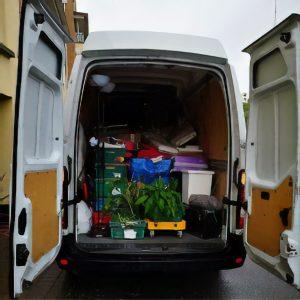house removals van